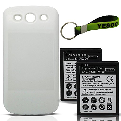 4300mAh Samsung Extended Battery Exclusive