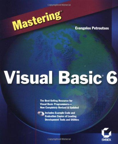 Mastering Visual Basic 6