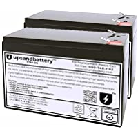 Cyber Power UPS Model CP1500PFCLCD Compatible - High-Rate Discharge Series Replacement Battery Backup Set…