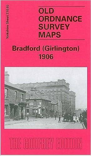 OLD ORDNANCE SURVEY MAP BRADFORD 1906