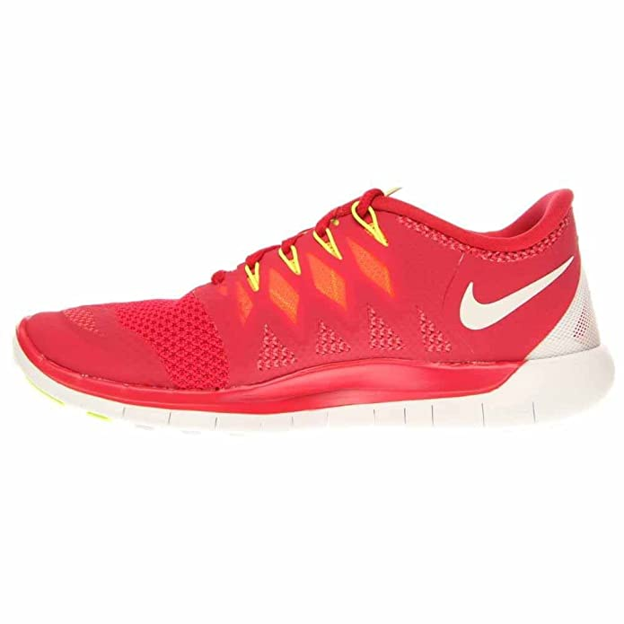 732b4bd4ba49 Nike Free 5. 0 Womens Running Shoes 642199-601 Legion Red 11 M US   Amazon.in  Shoes   Handbags