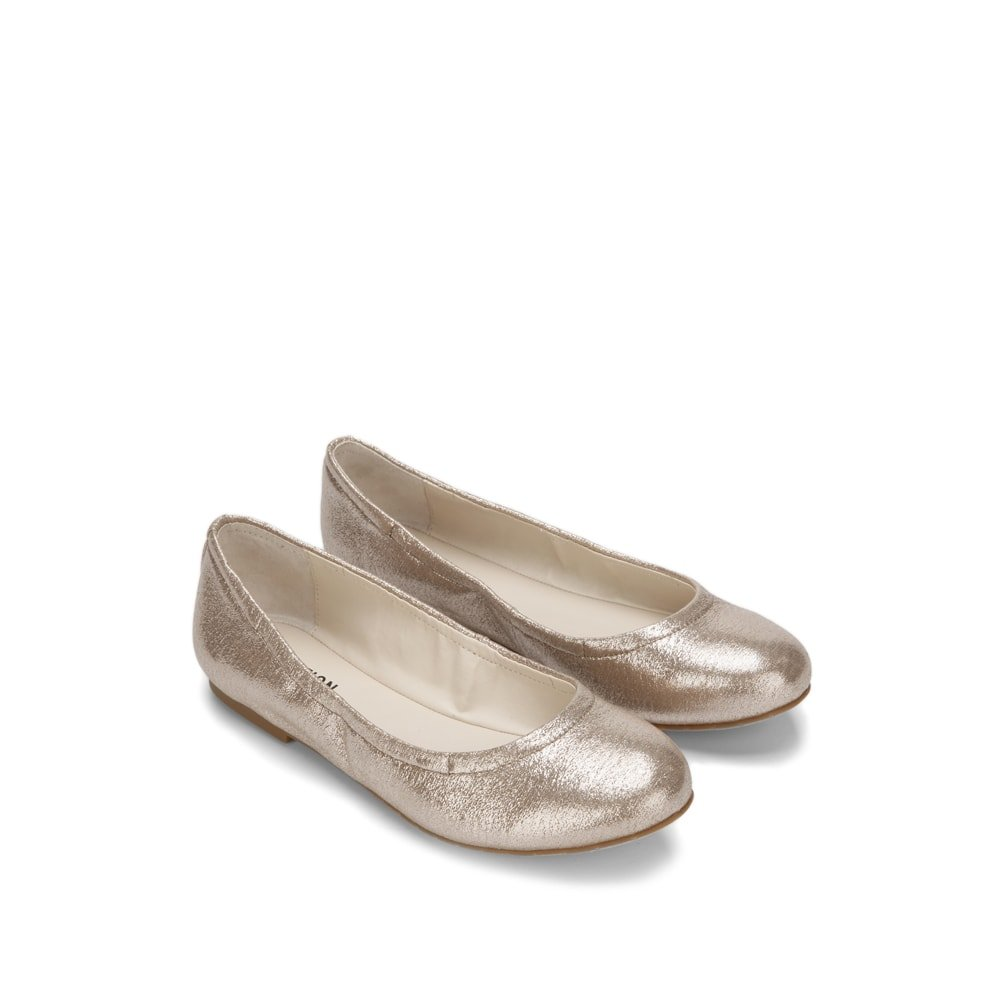 Reaction Kenneth Cole Pinelopi Glitz Ballet Flat - Women's B07CWZ14JF 9.5 B(M) US|Rose Gold