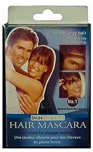 Hair Mascara (Unisex) - Natural Black