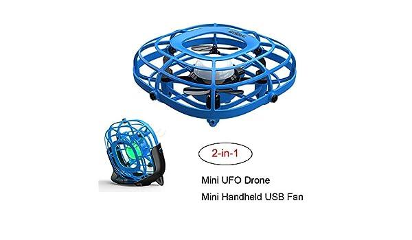 redreamsky Drone 2 en 1 Juguetes Regalo Mini Ventilador Portátil ...