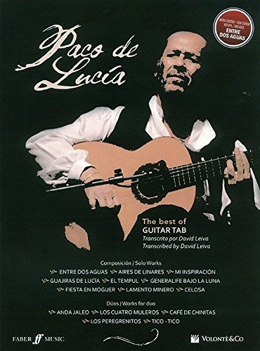 Best of Paco De Lucia (Guitar Tab) (Italian Edition)