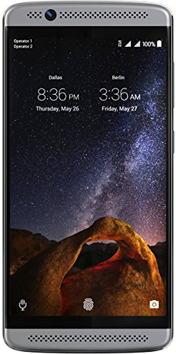 ZTE Axon 7 Mini - Factory Unlocked Phone - (Platinum Grey) (Certified Refurbished)