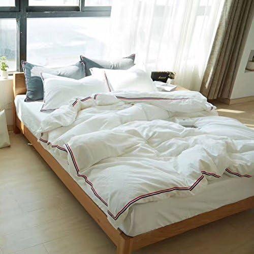 Simple, Puro, puro, Puro, puro algodón, sábanas blancas, una ...