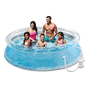 Inflatable pool this above ground blow up swimming pool is great for family adults for Blow up swimming pools for adults