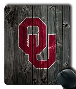 Oklahoma Sooners on Wood Rectangle Mouse Pad by eeMuse