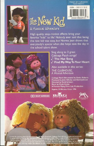 Cabbage Patch Kids:the New Kid [VHS]