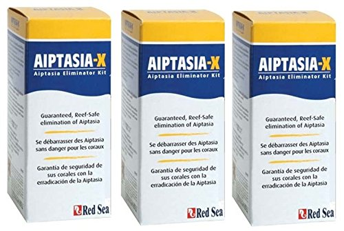 ((3 Pack) Red Sea Fish Pharm ARE22231 Aiptasia-X Eliminator Kit for Aquarium,)