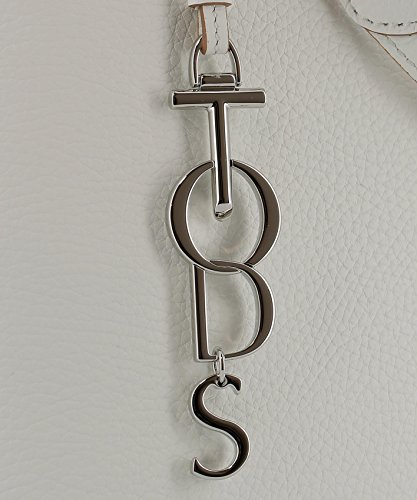 Tods Borsa Shopping Donna XBWANQAC300RIB0169 Pelle Bianco