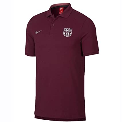 5afa2619c9c Image Unavailable. Image not available for. Color  NIKE 2018-2019 Barcelona  Core Polo ...