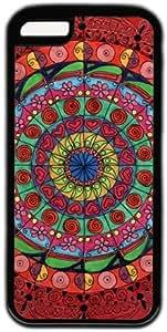 Rose mandala Aztec Tribal Pattern Cross Theme Iphone 5C Case