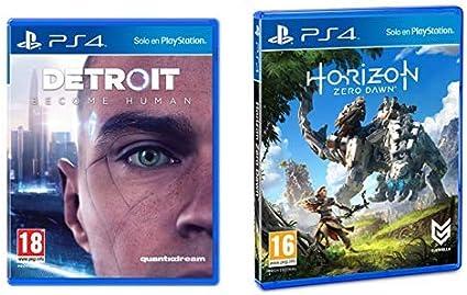 Detroit Become Human - Edición Estándar & Horizon Zero Dawn ...