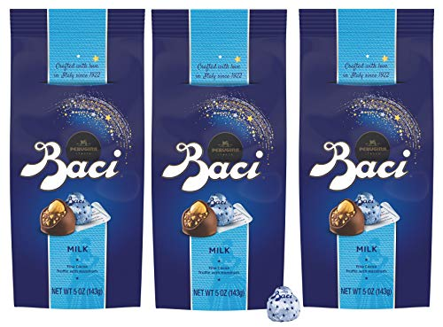 Baci Perugina Milk Chocolate Truffle Bag, 5 oz (Pack of 3)
