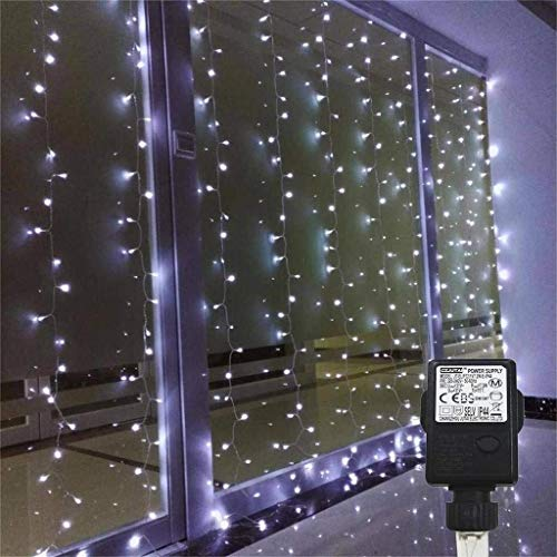Low Voltage Outdoor Party Lights: Bedroom Curtain Lights AMARS 3M X 3M Window String Fairy