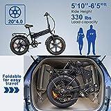 ENGWE Electric Bike 500W 750W 20 inch Fat Tire
