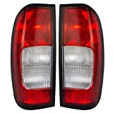 Driver and Passenger Taillights Tail Lamps Replacement for Nissan Frontier Pickup Truck 26559-3S525 26554-3S525 AutoAndArt