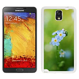 Forget Me Flowers 2 (2) Hard Plastic Samsung Galaxy Note 3 Protective Phone Case