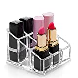 2 Pcs Transparent Makeup Organizer,Cosmetic Display Cases,Acrylic Lipsticks Storage,Beauty Care Holder Stand,Gift Set for Women