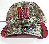 Nebraska Cornhuskers Camo Stretch Fit Cap