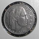 1942 Italy 20 Centesimi ~~ World War II Era ~~ Double-Headed Coin ~~ Almost Uncirculated
