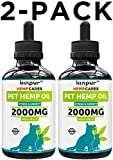 Kinpur (2 PACK | 2000MG) Hemp Oil for Dogs & Cats - Anxiety Relief for...