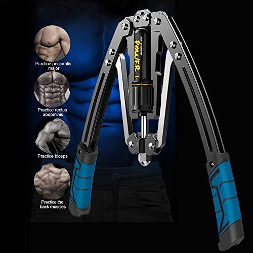 Dedeka Arm Oefeningen, Arm Machine Workout Systeem, 4 In 1 Power Twister Borst Expander Verstelbare Sterkte Trainer Pull…