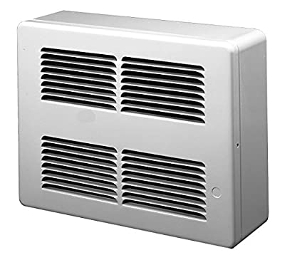 King Electric SL2422 Slim Line Surface Mounted Wall Heater 240-Volt White