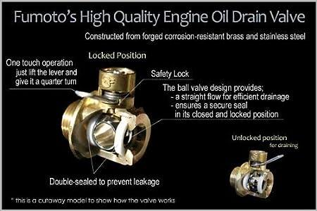 Fumoto F-102 Engine Oil Drain Valve