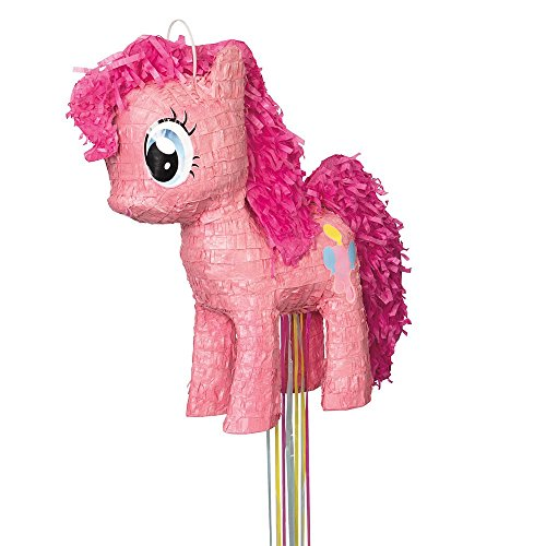 Unique Pinkie Pie My Little Pony Pinata, Pull String (Birthday Party Celebration Pinata)