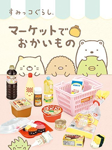 Corner Gurashi market in shopping BOX by Re-Ment by Re-Ment