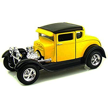 Maisto 1929 Ford Model A, Yellow 31201 - 1/24 Scale Diecast Model Toy Car