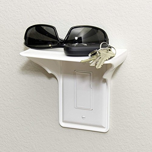 Goodlock Ultimate Outlet Shelf Easy Installation Wall Outlet Shelf Power Perch Shelf by Goodlock (Image #3)