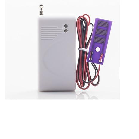 433 MHz Detector de Fugas de Agua inalámbrico para Seguridad en el hogar gsm Sistema de Alarma con Sensor de Fuga de Agua