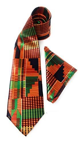 100% Silk Neck Tie With Hanky - Splendor - DC219A