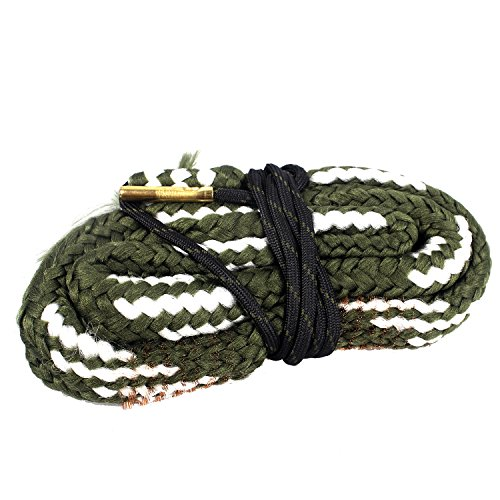 Unigear Gun Bore Cleaner Snake for Rifle Pisto Shotgun (20 GA Gauge) - Cleaning Brushes Shotgun 20 Gauge