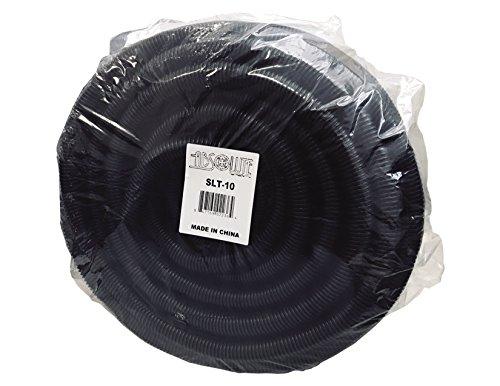 Absolute USA SLT10 1-Inch x 100-Feet Split Loom Tube