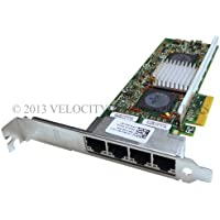 Dell-IMSourcing Gigabit Ethernet Card - PCI Express - 4 Port(s) - 4 x Network (RJ-45) - Twisted Pair