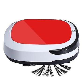 taottao Auto batería inteligente robot aspirador piso limpiador alta inalámbrico de succión barrer en seco Wet Mop, rojo: Amazon.es: Deportes y aire libre