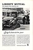 Print Ad 1961 Liberty Mutual If only his brakes had been fixed