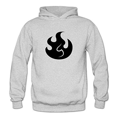SWWM Women's Skylanders Fire Long Sleeve Sweatshirts Hoodie