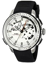 Timex Men's TW2P44600DH Intelligent Quartz Yacht Racer Watch with Black Band