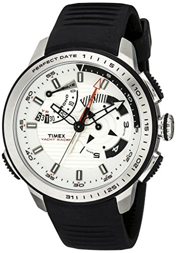 Timex Perpetual Calendar Watch (Timex Men's TW2P44600DH Intelligent Quartz Yacht Racer Watch with Black Band)