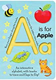 img - for A Is for Apple (Trace-and-Flip Fun!) (Smart Kids Trace-and-Flip) book / textbook / text book