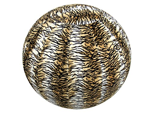 65cm Exercise Ball Cover, yoga ball cover, balance ball cover, stability ball cover - Tiger by Global Groove Life
