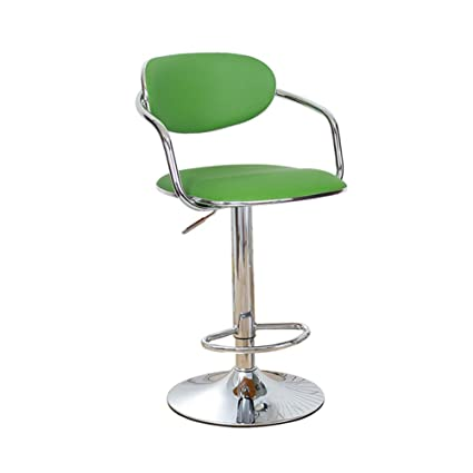 Excellent Amazon Com Alus Swivel Gas Lift Stool Pu Leather Chair Bar Machost Co Dining Chair Design Ideas Machostcouk