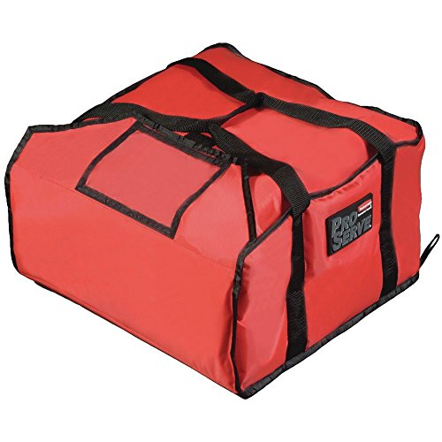 Rubbermaid ProServe Red Nylon Medium Pizza Delivery Bag - 18