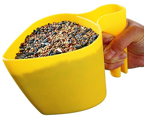 Perky-Pet 300-12 Scoop'n Fill Bird Seed Scoop